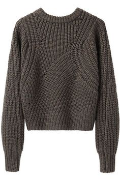 Isabel Marant Tifen Cropped Sweater, $695, available at La Garconne.
