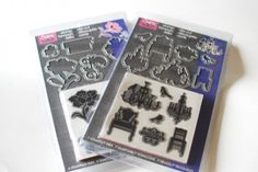 Hero Arts and Sizzix team up for the Stamp & Die Cut line. Full review on CraftTestDummies.com.