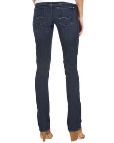 7 For All Mankind Fiji Mountain Straight-Leg Jeans