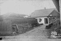 Stary dom Śpiewlów w 1933 roku.