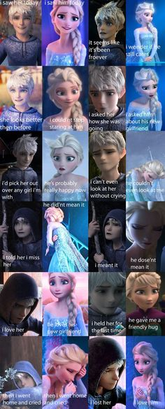 depressed love of jack and elsa by jackandelsa1
