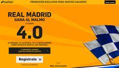 el forero jrvm y todos los bonos de deportes: betfair Real Madrid gana Malmo supercuota 4 Champi...