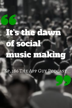 A quote from episode 186 of The App Guy Podcast Subscribe On iTunes by searching for Paul Kemp The App Guy Podcast in your favourite podcast app