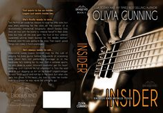 Paperback cover for Insider. June 30th, 2015 Designed by Charity Hendry
