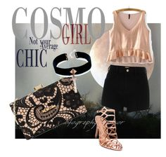 Designer Clothes, Shoes & Bags for Women Moschino, River Island, Crop Tops, Chic, Girls, Polyvore, Image, Women, Fashion