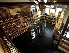 Little Wine Shop, Interior 1st Floor 1 by rafterprone, via Flickr