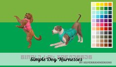 Merry (belated) Christmas and Happy New Year, You said you liked anything dog related, so I made you a simple dog harness/vest for both small and large dogs. requires Cats and Dogs (duh) The Sims, Sims 4 Beds, Sims Pets, Sims 4 Cc Shoes, Sims 4 Mm Cc, Dog Clothes Patterns, Dog Harness, Dog Leash, Sims 4 Cc Finds