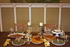 A Tuscan Tablescape!