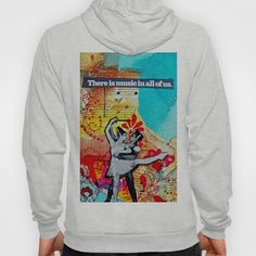 Musc in All of Us Hoody by LadyJennD - $42.00