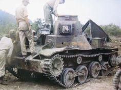 "A Tank Type 95 ""Ha-Go"""