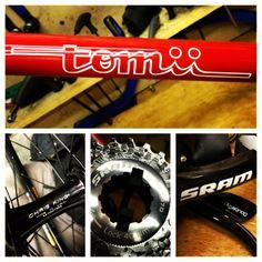 Tomii custom cyclocross bike.