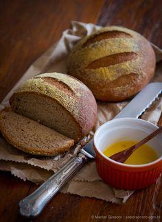 Minha receita do Pão Australiano. Sim, aquele do Outback ;) | Sabor Sonoro :: Receitas, sabores e outras viagens