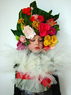 Bouquet of flowers (made for Kicky, modeled by EZ E via Aesthetic Outburst