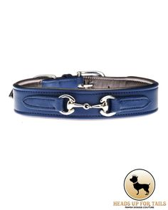 Classic, yet stylish, the Midnight Blue Luxury Dog Collar is made from the highest quality leathers with all brass fittings, these beautifully produced and durable pieces are all fully padded and finished on both sides. Hand-stitched with the highest quality workmanship. Grab this beautifully crafted collar for your beautiful pooch here : http://www.headsupfortails.com/midnight-blue-luxury-collar.html #dogs #collars #dogcollars #luxury #pets #petsarefamily #headsupfortails #huft