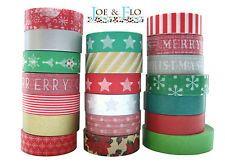 Japanese Washi Tape, Masking Tape, Gift and Craft Tape - Christmas