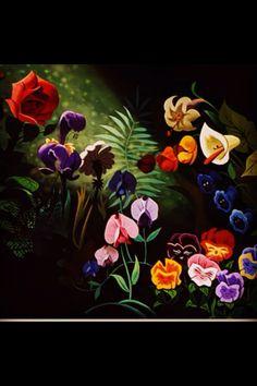Alice in wonderland #flowers
