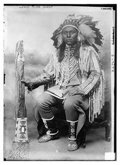 Long Time Sleep - Blackfeet (Pikuni) - circa 1913, no location