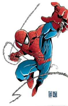 A collection of Marvel comic book artwork from the golden age of comics to the present. Marvel Comic Books, Marvel Art, Marvel Heroes, Comic Books Art, Dc Comics Superheroes, Marvel Dc Comics, Spiderman Pictures, Spider Art, Spider Verse