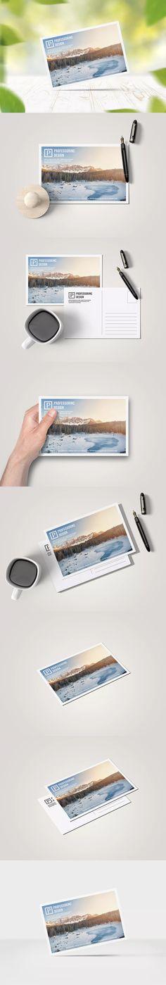 10x15 Postcard / Greeting Card Mock-up
