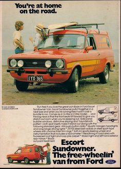 The Ford Escort was a compact, economical and groovy surf wagon. Now as rare as he's teeth!