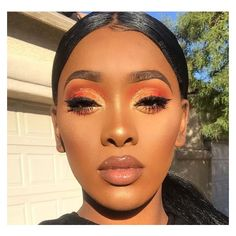 Black Girl Makeup Looks ❤ liked on Polyvore featuring beauty products, makeup and eye makeup