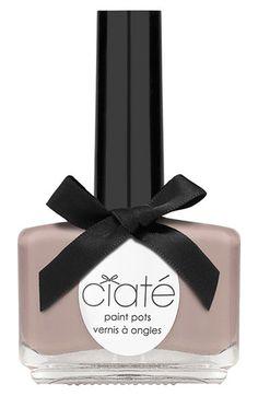Ciate Paint Pots Pecan Pie - Ml - Shimmer Ciaté Ciate Nail Polish, Pastel Nail Polish, Pastel Nails, Nail Polish Colors, Nail Polishes, Teal Nails, Queen Nails, Nail Effects, Spring Nail Colors