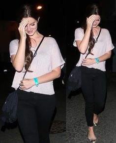Sept.6, 2017: Lana Del Rey leaving Dermot Kennedy's concert at the Troubadour in West Hollywood #LDR