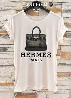 Hermes fashion  tshirt/white/black tshirt /   by ANISHARsport, $18.90