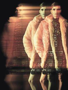 Tilda Lindstam by Andreas Sjodin for Elle France December 12th, 2014