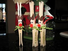 Reindeer books and Christmas crafts