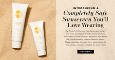 Light weight mineral sunblock that protects without harmful chemicals. #safesunscreen www.jeniskra.beautycounter.com