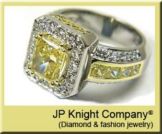 I normally do not care for yellow diamonds but this is beautiful