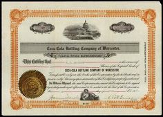 MA. Coca-Cola Bottling Company of Worcester. - Archives International Auctions