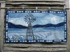 What a statement quilt for a farm family!