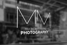 krims.dk | Logo design til Mia Mortensen Photography
