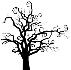 6155x6103 Tree silhouette free clipart collection