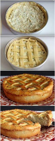 TORTA CREMOSA DE CEBOLA COM QUEIJO: A MELHOR TORTA SALGADA DO UNIVERSO! (veja como fazer) #torta #tortasalgada #cebola #tortacremosa #tortadequeijo #tortadecebola