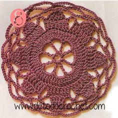 12 Patrones de Motivos Crochet / Descarga gratis Crochet Earrings, Farmhouse Rugs, Crochet Blocks, Crochet Tops, Free Downloads, Free Pattern, Doily Patterns, Tejidos, Dots