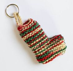 Christmas Stocking Keyring