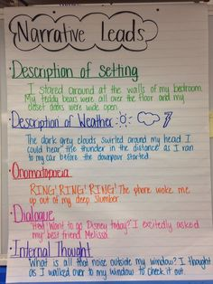 anchor charts for realistic fiction writing Teaching Narrative Writing, Personal Narrative Writing, Informational Writing, Writing Lessons, Writing Skills, Personal Narratives, Writing Process, Recount Writing, Fiction Writing