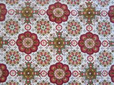 Vintage Boho Fabric Tablecloth Waverly NeatoKeen by NeatoKeen, $20.00