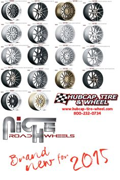 New 2015 Niche Road Wheels for your car or SUV! Truck Wheels, Wheels And Tires, Custom Wheels, Custom Cars, Vw Touran, Mustang Wheels, Chrome Wheels, Cheap Cars, Wheel Cover