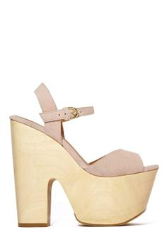 Shoe Cult Too Shy Platform at Nasty Gal size Crazy Shoes, New Shoes, Me Too Shoes, Peep Toe Shoes, Shoes Sandals, Sandals Outfit, Heeled Sandals, Gladiator Sandals, Heeled Mules