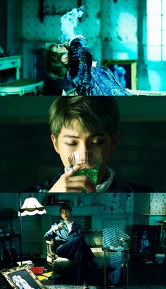 Blood Sweat and Tears Bts Bangtan Boy, Bts Taehyung, Bts Boys, Namjoon, Demian Hermann Hesse, Bts Theory, Solo Pics, Bts Wings, Bts Concept Photo