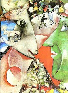 Marc Chagall – Ja i moja wieś