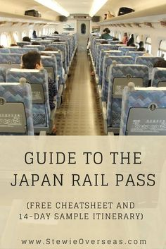 If you are thinking about buying the Japan Rail Pass (JR Pass) before you travel to Japan, read this guide! It tells you about the cost, the rules, and how to get the most value from your Japan Rail Pass. There's even a downloadable cheatsheet and 14-day sample itinerary! Click to read the full post! #japantravel #japanrailpass #traintraveljapan #jrpass #JapanTravelHolidays