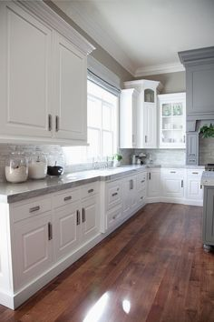 Kitchen Cabinet Colors - CHECK THE IMAGE for Many Kitchen Cabinet Ideas. 53924644 #cabinets #kitchendesign