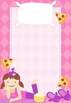 Free Printable Sleepover Party Invitation