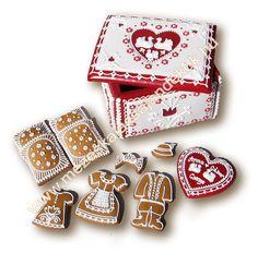 Mézeskalács ajándék minden alkalomra - Köszönetajándék - Reklámajándék  www.mezeskalacsajandekok.hu  www.mezeskalacsajandekok.blogspot.hu/ Cookie Decorating, Gingerbread, Projects To Try, Cookies, Minden, Gifts, Accessories, Box, Wedding