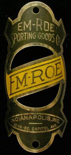 Bicycle Head Badge - Em-Roe